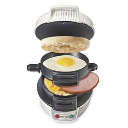 Proctor Silex 25479 Breakfast Sandwich Maker, White