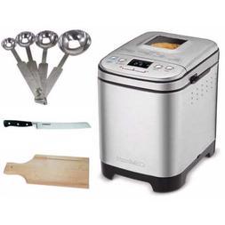 Cuisinart CBK-110 Bread Maker Bundle with Measuring Spoon Se