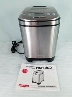 Cuisinart CBK-110 Compact Automatic 2 lb. Bread Maker - Silv