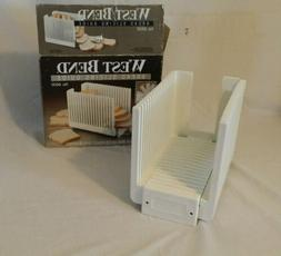 West Bend Collapsible Bread Slicing Guide In Box 6600 For 1-