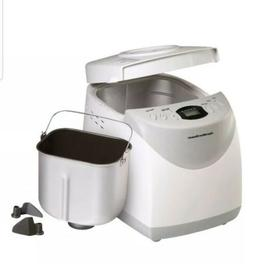 Compact Countertop 2 lb Digital Bread Maker Machine 12 Setti