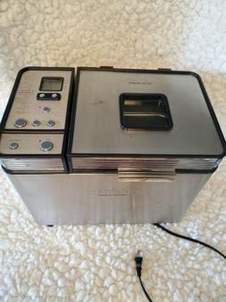 Cuisinart Convection Bread Maker Machine 2lb CBK-200 Cup & S