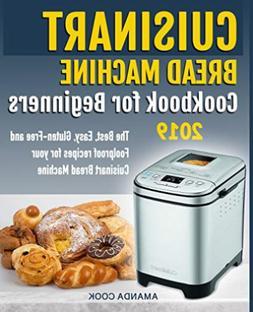Cook Amanda-Cuisinart Bread Machine Ckbk F BOOK NEW
