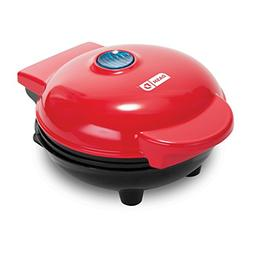 Dash DMG001RD Mini Maker Portable Grill Machine + Panini Pre