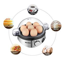Aicok Egg Cooker, Egg Boiler, Electric Egg Maker with 7 Egg