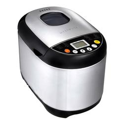 Ovente Electric Stainless Steel Bread Maker Machine Digital
