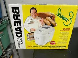 Emeril by T-Fal Bread Maker Machine & Baguette MAKER 3 LB. L