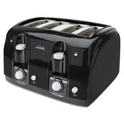 Sunbeam Extra Wide Slot Pop-Up Toaster, 4-Slice, Black