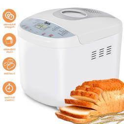 KBS Full Automatic Bread Maker 2LB, Multi-Use 19 Programs Br