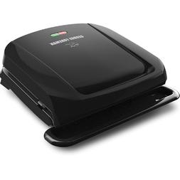 George Foreman 4-Serving Removable Plate Grill and Panini Pr
