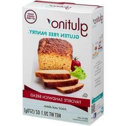 Glutino Gluten Free Pantry Favorite Sandwich Bread Mix 20.1