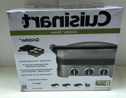 Cuisinart GR-4N 5-in-1 Grill Griddler Panini Maker Set-BRAND