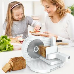"""Home Electric Meat Slicer 6.7"""" Bread Deli Food Fruits Cutter"""