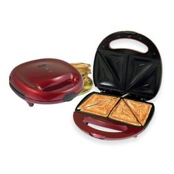 Better Chef IM-288R sandwich maker metallic red