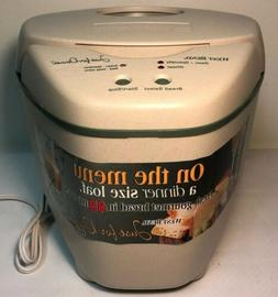 West Bend Just For Dinner Bread Maker Small Perfect Loaf 45