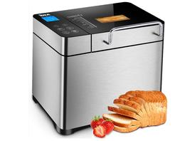 KBS Pro Stainless Steel Bread Machine, 2LB 17-in-1 Programma