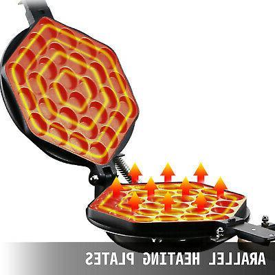 1400W Electric Cake Maker Waffle