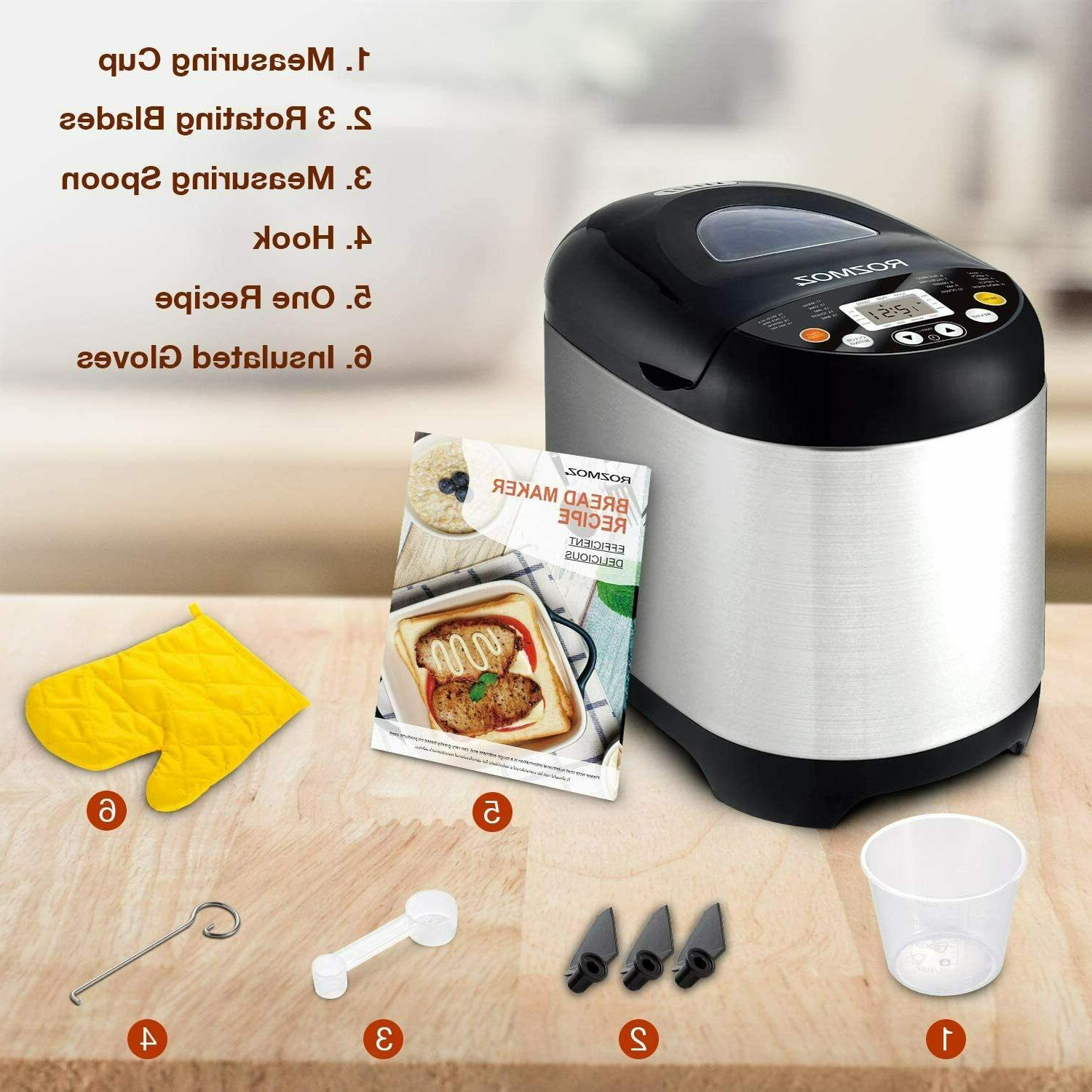 19-in-1 Programmable Automatic 2LB,Keep