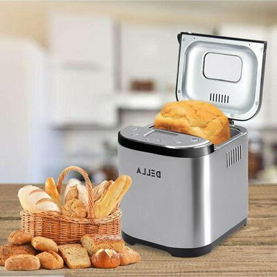 2 Automatic Bread Maker Stainless Bread
