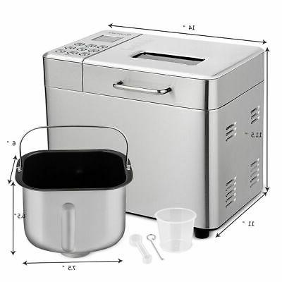2 Maker Stainless Bread Machine