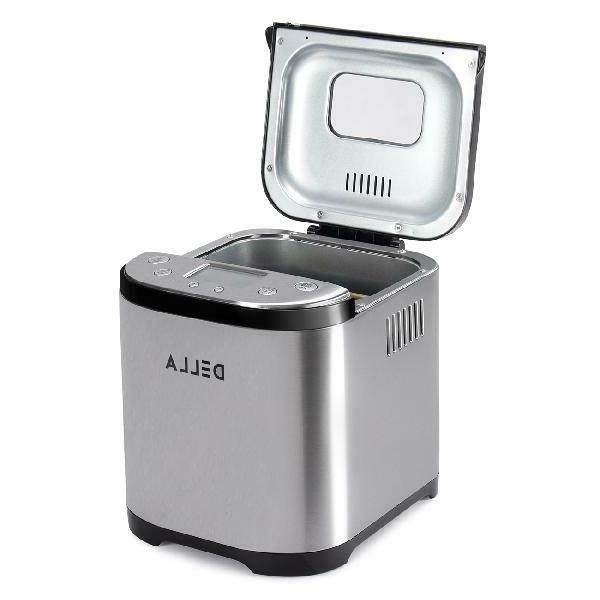2 Automatic Bread Maker Stainless Bread Silver