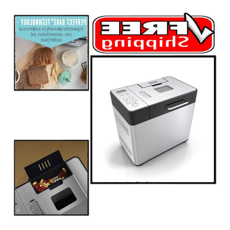 2 lb professional bread maker stainless steel