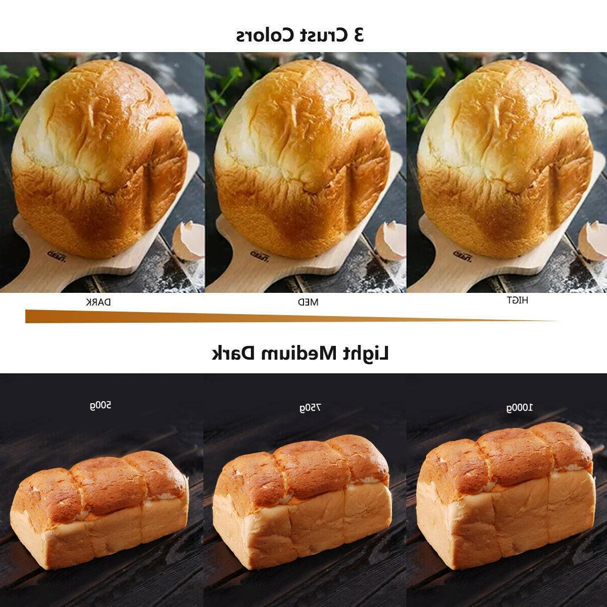 2 librasMaquina programadora de pan de inoxidable