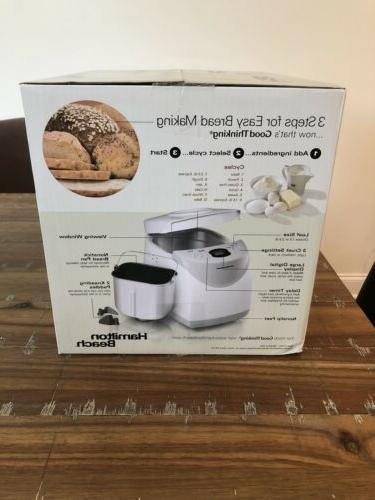 Hamilton Automatic Bread Maker w/ Free
