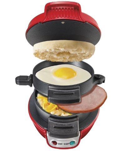 25476 breakfast electric sandwich maker