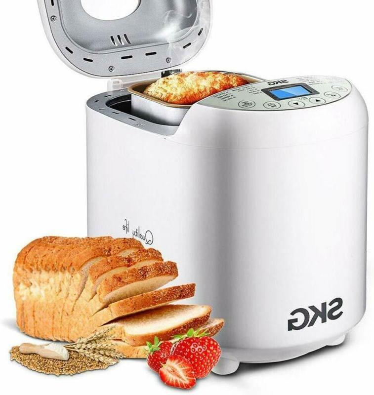 skg automatic bread machine with recipes multifunctional