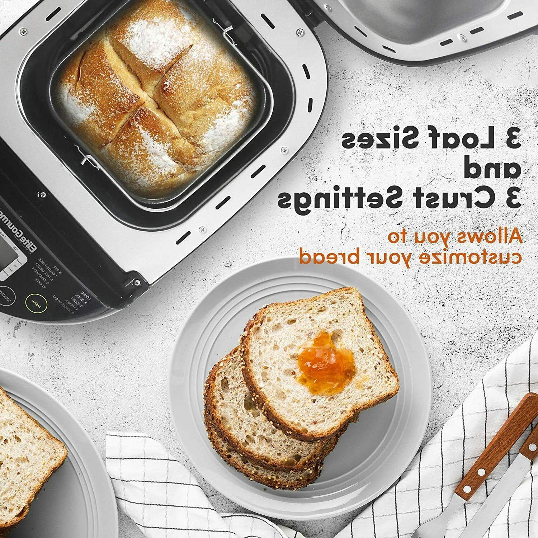 Programmable Bread 3 Loaf Menu Functions