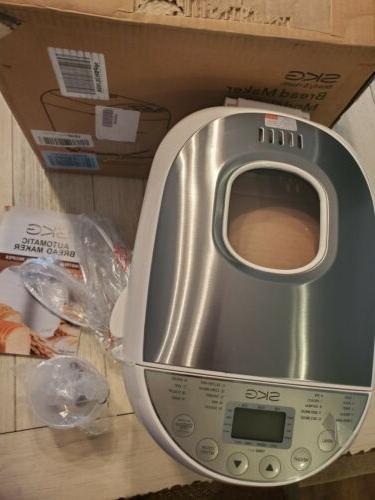 SKG Bread Machine Recipes Multifunctional Loaf Maker for