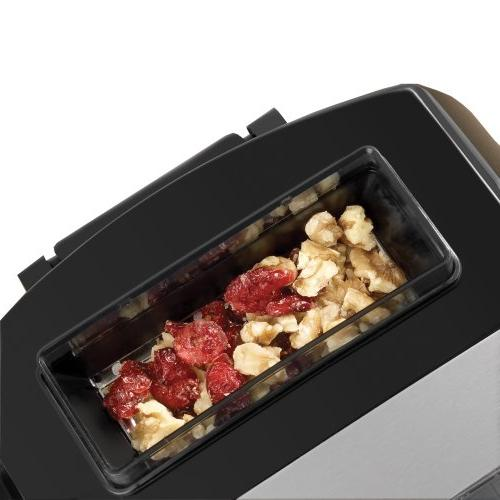 Breadman BK2000B Pro Bread Collapsible Kneading Paddles and Automatic and Nut Dispenser