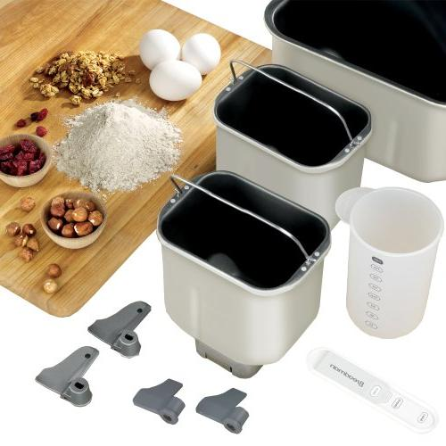 Breadman Pro Maker with Collapsible Kneading Automatic Fruit Dispenser