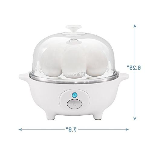 Elite Electric & Medium, Egg with Auto-Shut off Egg Capacity,