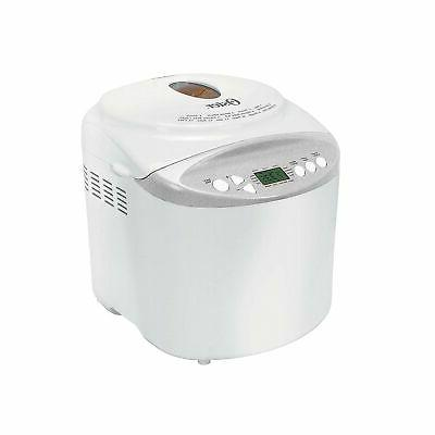 Oster Expressbake Bread Maker with Gluten-Free Setting, 2 Po