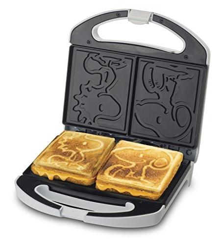 Smart Planet Snoopy and Woodstock Grilled Cheese Sandwich Maker,