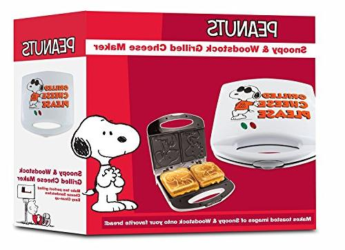 Smart Peanuts Snoopy Woodstock Cheese White