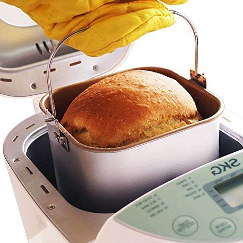 SKG Automatic 2LB - Programmable Maker Gluten Wheat Breadmaker