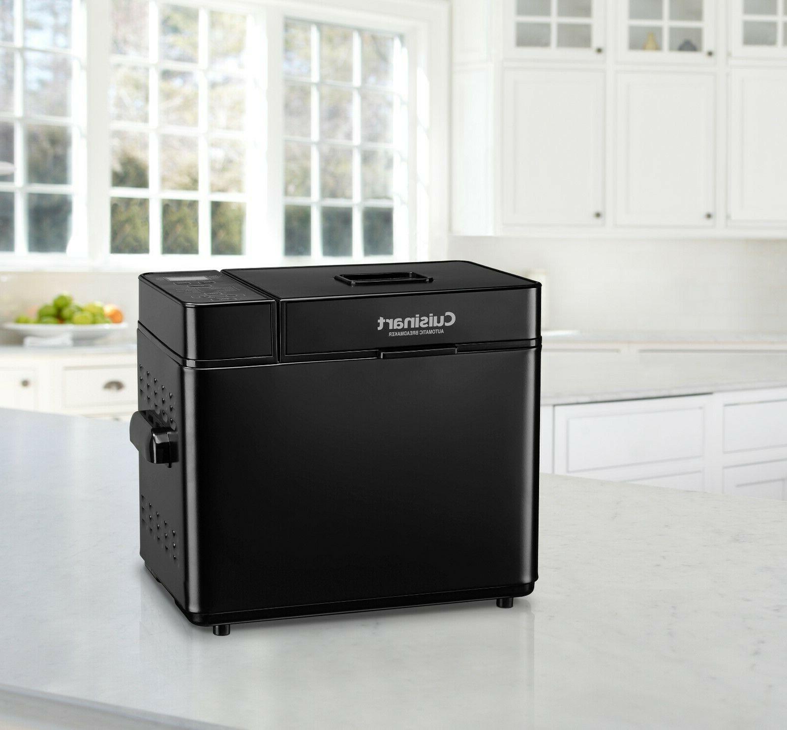 automatic bread maker black stainless cbk100bk