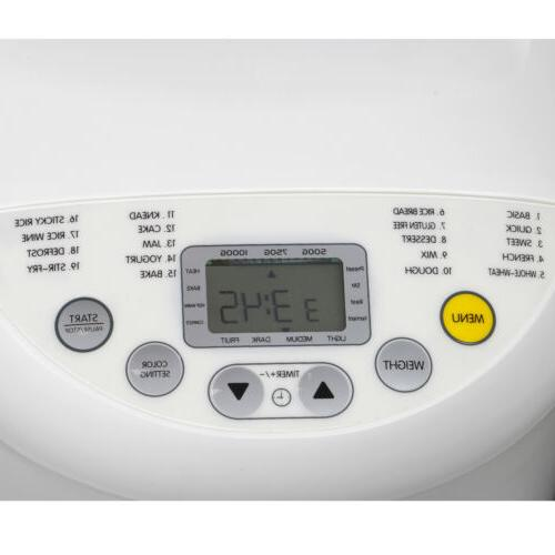Automatic Maker 2.2lbs LED Home Bakery