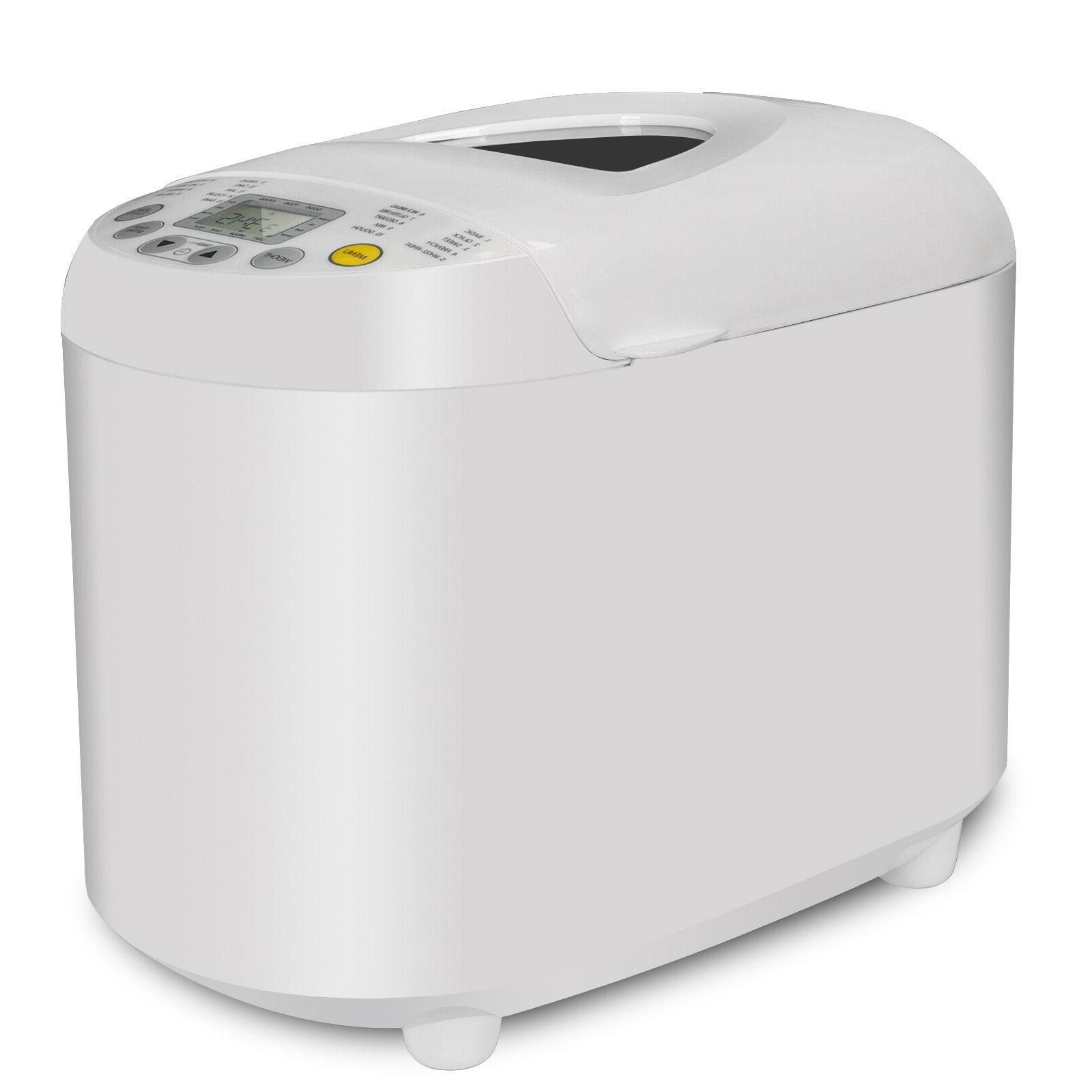 Automatic Bread Maker Machine 2.2lbs 550W With LCD Display &