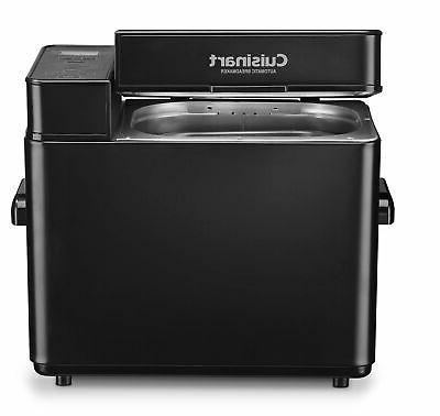 Cuisinart Bread Maker Machine CBK-100BK Black 12 Programs