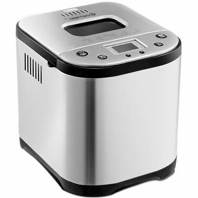 2 LB Automatic Breakfast Bread Maker Home Kitchen Stainless