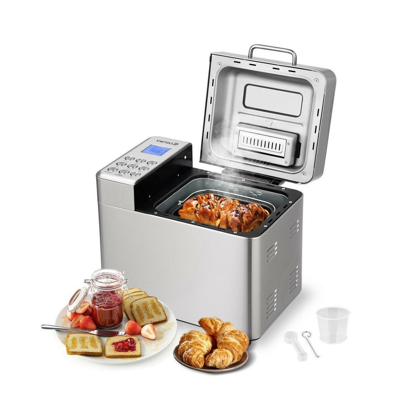 Automatic Bread Stainless Steel Programmable Machine New