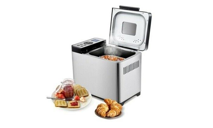automatic stainless steel bread maker 2lb bread