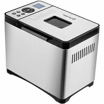 2 LB Stainless Steel Bread Machine