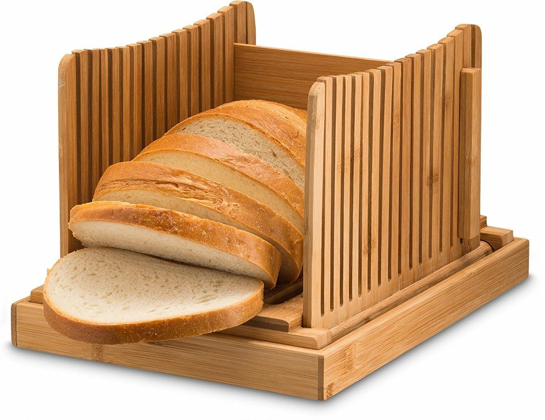 bamboo foldable bread slicer