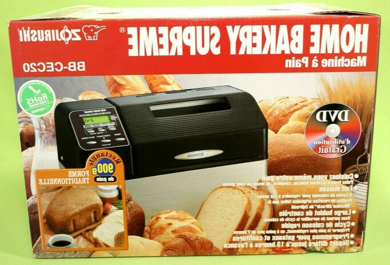 Zojirushi Black Bakery Supreme Bread