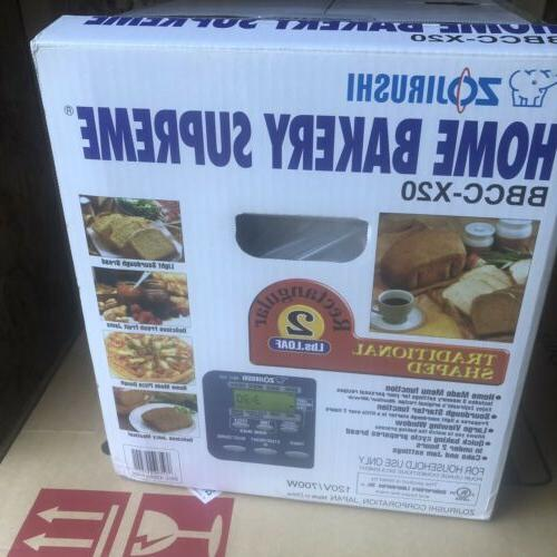 ZOJIRUSHI Maker Machine Home 2 Loaf